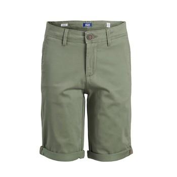 衣服 男孩 短裤&百慕大短裤 Jack & Jones 杰克琼斯 JJIBOWIE JJSHORTS 米色