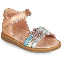 鞋子 女孩 凉鞋 Acebo's 1228-RAME 古銅色