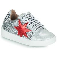 鞋子 女孩 球鞋基本款 Acebo's 5461GL-PLATA-J 银灰色