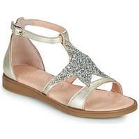 鞋子 女孩 凉鞋 Acebo's 9895GE-PLATINO-J 金色