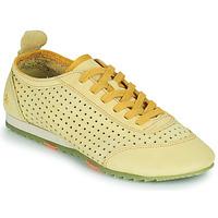 鞋子 女士 球鞋基本款 Art KIOTO 黄色