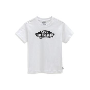 衣服 儿童 短袖体恤 Vans 范斯 VANS CLASSIC TEE 白色