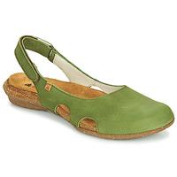 鞋子 女士 凉鞋 El Naturalista WAKATAUA 绿色