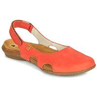 鞋子 女士 凉鞋 El Naturalista WAKATAUA 橙色