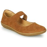 鞋子 女士 平底鞋 El Naturalista CORAL 棕色