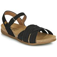 鞋子 女士 凉鞋 El Naturalista ZUMAIA 黑色