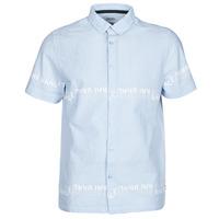 衣服 男士 短袖衬衫 Kaporal STEVE 蓝色