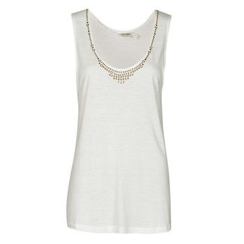 衣服 女士 无领短袖套衫/无袖T恤 Kaporal PAMPI 白色