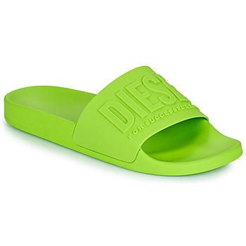 鞋子 男士 拖鞋 Diesel 迪赛尔 AFRENTY 绿色