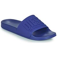 鞋子 男士 拖鞋 Diesel 迪赛尔 TRENFY 蓝色