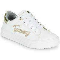 鞋子 女孩 球鞋基本款 Tommy Hilfiger SOFI 白色