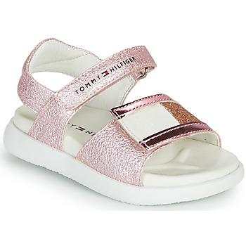 鞋子 女孩 凉鞋 Tommy Hilfiger EMIA 玫瑰色