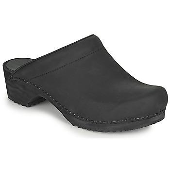 鞋子 女士 洞洞鞋/圆头拖鞋 Sanita CHRISSY 黑色