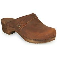 鞋子 女士 洞洞鞋/圆头拖鞋 Sanita URSANA 棕色