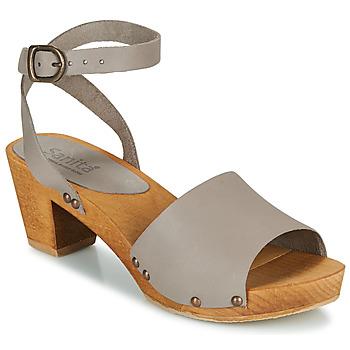 鞋子 女士 凉鞋 Sanita YARA 灰色