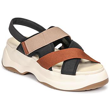 鞋子 女士 凉鞋 Vagabond ESSY 白色 / 铁锈色 / 黑色