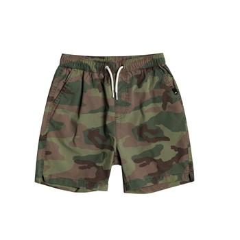 衣服 男孩 短裤&百慕大短裤 Quiksilver 极速骑板 TAXER WS 奶油色