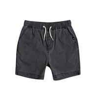 衣服 男孩 短裤&百慕大短裤 Quiksilver 极速骑板 TAXER WS 黑色