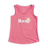 衣服 女孩 无领短袖套衫/无袖T恤 Roxy 罗克西 THERE IS LIFE FOIL 玫瑰色