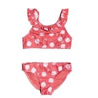 衣服 女孩 泳装两件套 Roxy 罗克西 TEENY EVERGLOW CROP TOP SET 玫瑰色