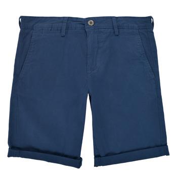 衣服 男孩 短裤&百慕大短裤 Teddy Smith 泰迪 史密斯 SHORT CHINO 蓝色
