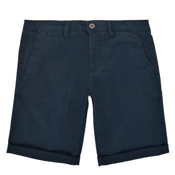 衣服 男孩 短裤&百慕大短裤 Teddy Smith 泰迪 史密斯 SHORT CHINO 海蓝色