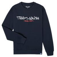 衣服 男孩 卫衣 Teddy Smith 泰迪 史密斯 S-MICKE 海蓝色