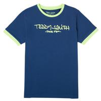 衣服 男孩 短袖体恤 Teddy Smith 泰迪 史密斯 TICLASS 3 海蓝色