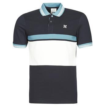 衣服 男士 短袖保罗衫 Oxbow N1NIREMO 海蓝色
