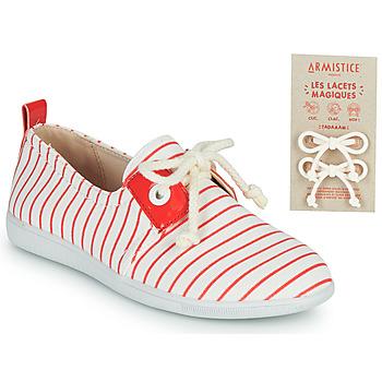 鞋子 儿童 球鞋基本款 Armistice STONE ONE 白色 / 红色