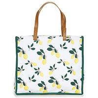 包 女士 购物袋 Petite Mendigote CLEA LEMON 白色