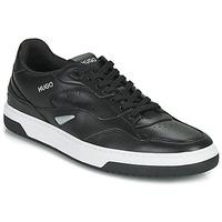 鞋子 男士 球鞋基本款 HUGO - Hugo Boss Switon_Tenn_fl 10232547 01 黑色