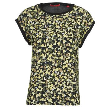 衣服 女士 女士上衣/罩衫 S.Oliver 14-1Q1-32-7164-99B0 黑色 / 多彩