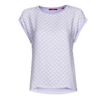 衣服 女士 短袖体恤 S.Oliver 14-1Q1-32-6972-48B2 蓝色