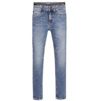 衣服 男孩 牛仔铅笔裤 Calvin Klein Jeans SKINNY VINTAGE LIGHT BLUE 蓝色
