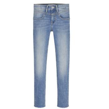 衣服 女孩 牛仔铅笔裤 Calvin Klein Jeans SOLILA 蓝色