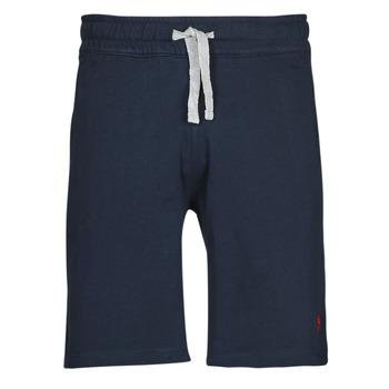 衣服 男士 短裤&百慕大短裤 U.S Polo Assn. 美国马球协会 TRICOLOR SHORT FLEECE 蓝色
