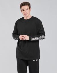 衣服 男士 长袖T恤 Urban Classics TB4140 黑色