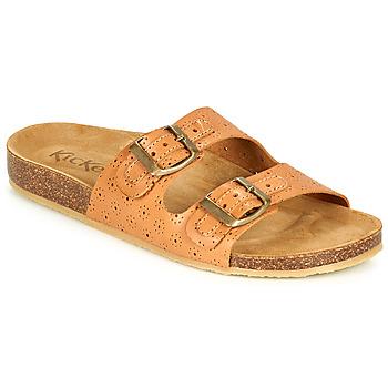 鞋子 女士 休闲凉拖/沙滩鞋 Kickers ECOLOG 驼色 / 米色