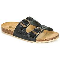 鞋子 女士 休闲凉拖/沙滩鞋 Kickers ECOLOG 黑色