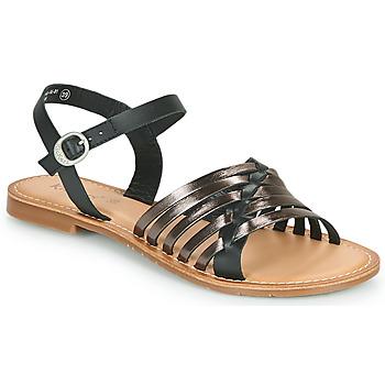 鞋子 女士 凉鞋 Kickers ETCETERA 黑色 / 银色