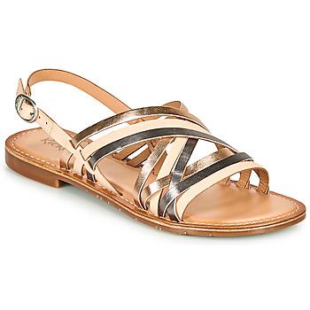 鞋子 女士 凉鞋 Kickers ETRUSK 玫瑰色 / 金属银 / 银色