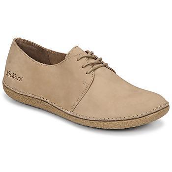 鞋子 女士 德比 Kickers HOLSTER 米色
