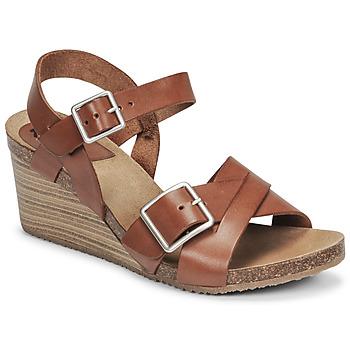 鞋子 女士 凉鞋 Kickers SPAINSTRAP 棕色