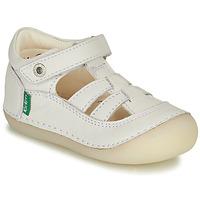 鞋子 女孩 平底鞋 Kickers SUSHY 白色