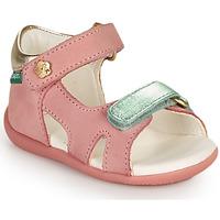 鞋子 女孩 凉鞋 Kickers BINSIA-2 玫瑰色