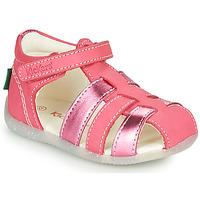 鞋子 女孩 凉鞋 Kickers BIGFLO-2 玫瑰色