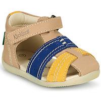 鞋子 男孩 凉鞋 Kickers BIGBAZAR-2 海蓝色