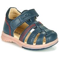 鞋子 男孩 凉鞋 Kickers PLATIBACK 海蓝色