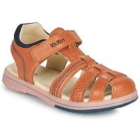鞋子 男孩 凉鞋 Kickers PLATINIUM 驼色